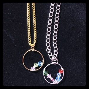 Jewelry - Hoop pendant necklace